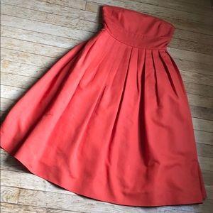 JCrew Strapless Party dress